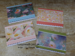 Perenial essence scallop notecards
