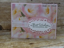 Perennial essence wedding card