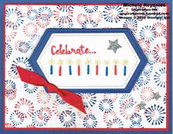 Beautiful you fireworks celebration watermark