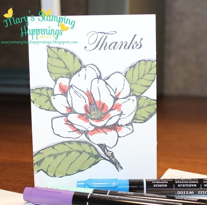 simplestamping good morning magnolia stampin  write markers 1a
