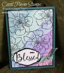 Stampin up to a wild rose carolpaynestamps1