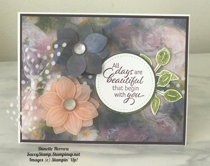 Perennial essence encouragement card
