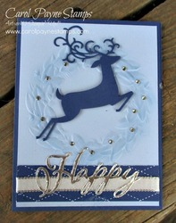 Stampin up dashing deer carolpaynestamps1