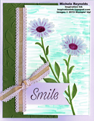 Daisy lane no line watercolor daisies watermark