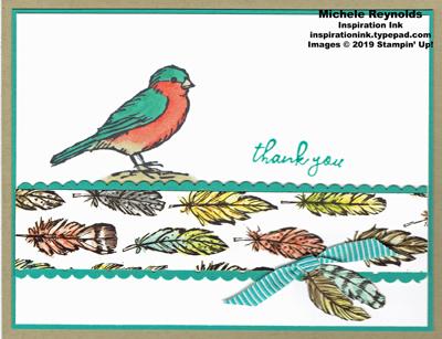 Free as a bird stepped up bluebird watermark