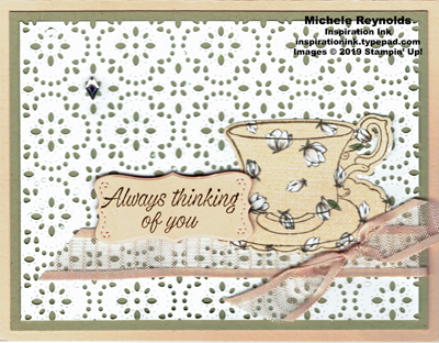 Tea together magnolia teacup thoughts watermark