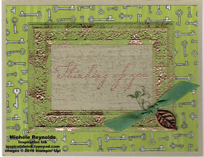 Woven heirlooms antiqued frame thoughts watermark