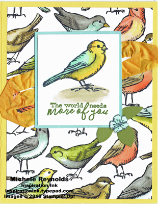 Free as a bird more birds watermark