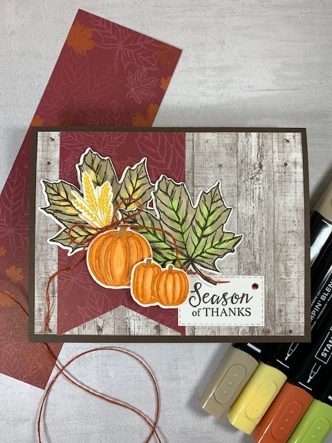 Gather together thanksgiving card