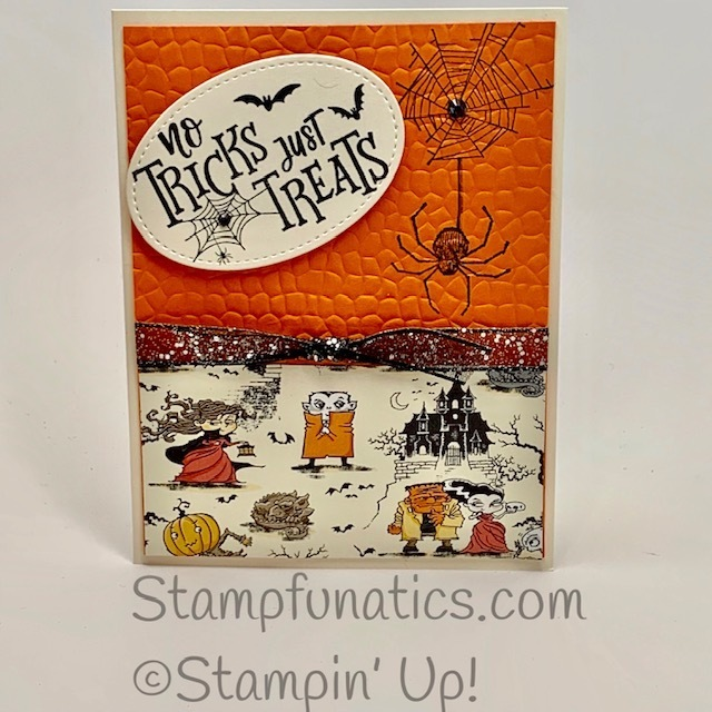 Everything festive and wonderfuly wicked halloween card