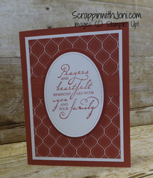 Regal dsp sympathy card