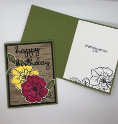 August 2019 stampin blends cards 1