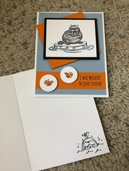September 2019 stampin blends card 2