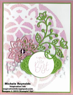 Label me pretty best flourish medallion watermark