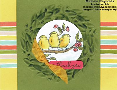 Free as a bird bird wreath swap watermark