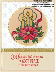 God s peace vellum candles watermark