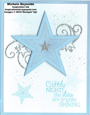 So many stars shining silver watermark