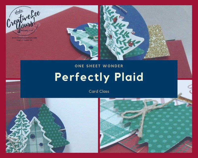 Perfectly plaid collage