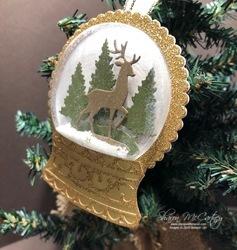 1119 ornament snowglobe