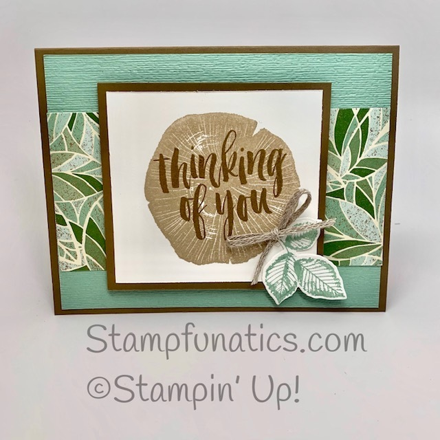 Nature s roots thinking of you card