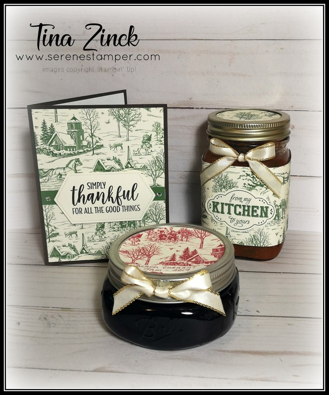 Stampin up jam jar tina zinck