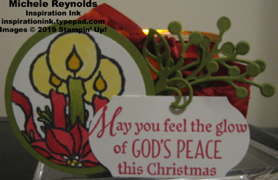 God s peace votive candle