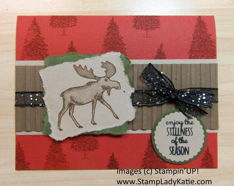 Merry moose rustic look