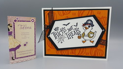 2019 10 13    birds of a feather trick or treat together card