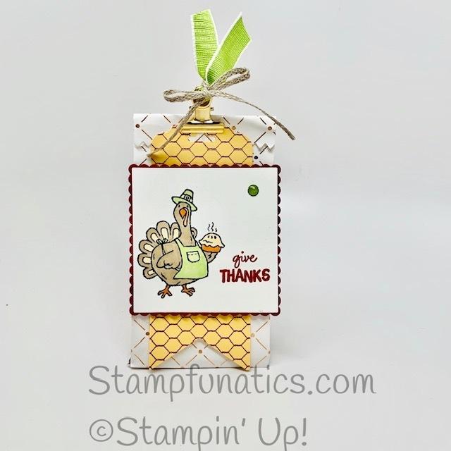 Thanksgiving blessing bag