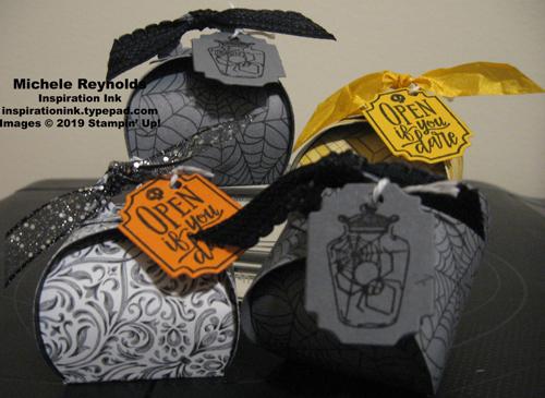 Spooktacular bash mini curvy keepsakes halloween boxes