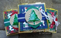 Perfectlyplaid goldpizzabox stampinup loriskinner thiscraftersdream christmas3d 10 29 19blogpost