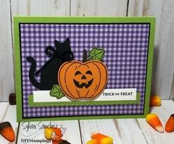 Z halloween card