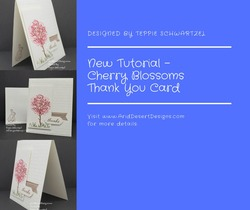Cherry blossom thank you card fb