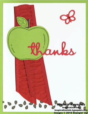 Harvest hellos green apple thanks watermark