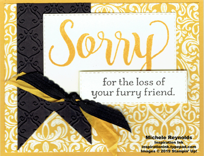 Sorry for everything pet sympathy flourish watermark