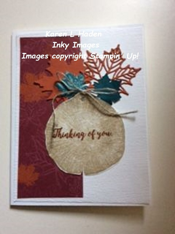Rooted in nature fall card