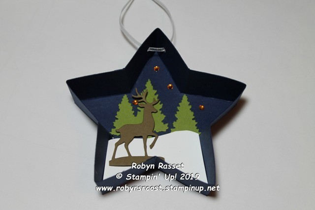 Star ornament deer