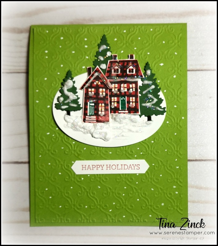 From our house to yours stampin up serene stamper
