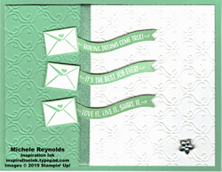Stamping your way to the top letter banners watermark