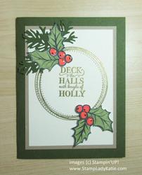 November christmas card class card  2