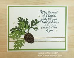 November christmas card class card  1