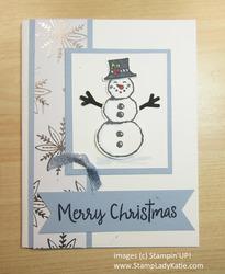 November christmas card class card  3
