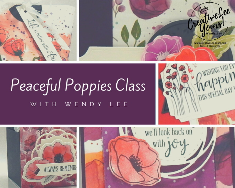 Peaceful poppies class