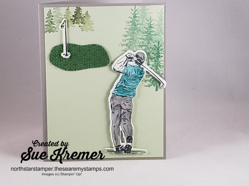 Male_golfer_die_cut_card