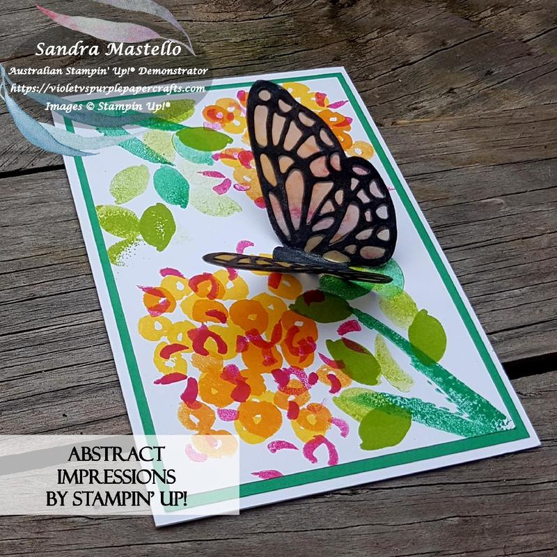Abstract impessions butterfly card 01