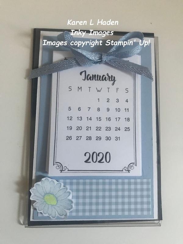 Acrylic magnetic calendar