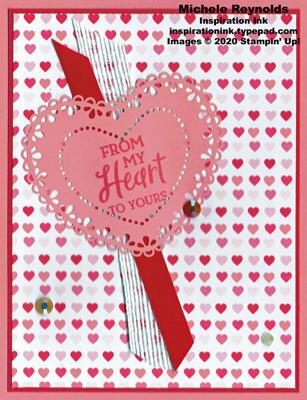 Heartfelt my heart doily watermark
