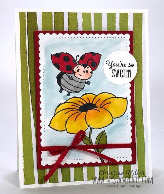 Full ladybug sweet standing