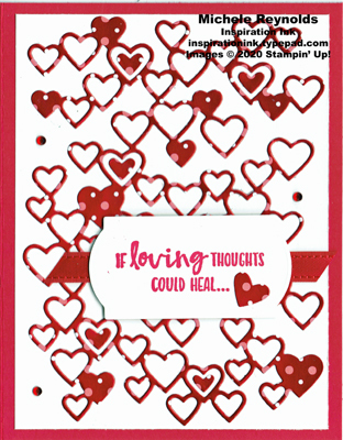 Sending you thoughts lots of hearts watermark