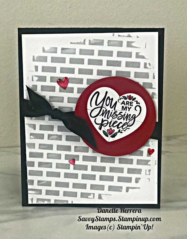 You are my missing piece masculine card
